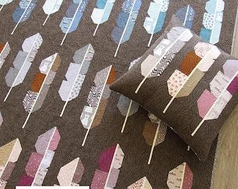 NEW Arctic Feathers Elizabeth Hartman Quilt Modern Pattern 4 Sizes