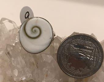 Shiva Eye Ring, Size 9