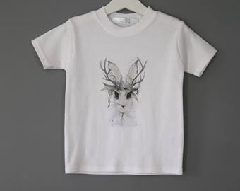 Childrens Rabbit T shirt