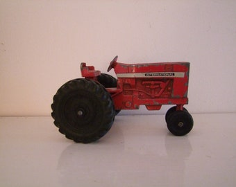 Vintage International metal toy tractor