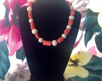 Tiki Time Tart Necklace