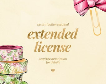Extended License, Commercial License, Business Use License