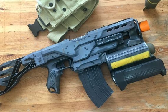 Top 10 Coolest Custom Nerf Guns