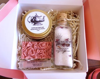Bridesmaid Proposal Gift Set Will you be my Bridesmaid gift set bridesmaid spa gift set Proposal bridesmaids gift basket Spa gift set gifts