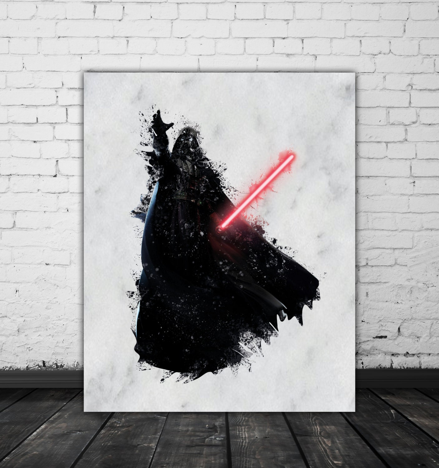 Simple Darth Vader Painting