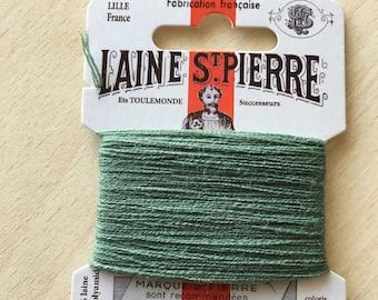St. Pierre 814 Sage wool yarn