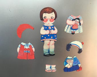 Cupie doll magnet set, great gift
