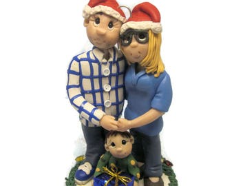 Custom Family Christmas Ornament 2017