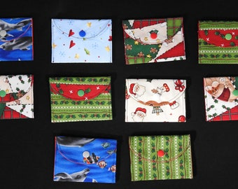 Gift card holders - choice of 10