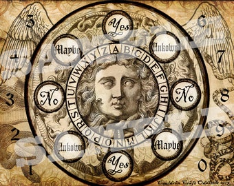 Medusa Pendulum Board - Digital Download emailed to you