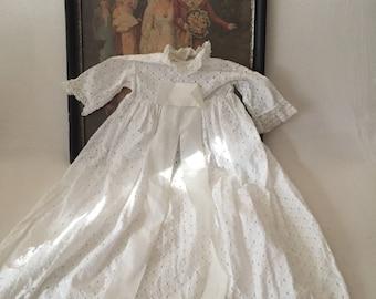 Christening dress for infant