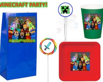 Minecraft Party 12pcs.