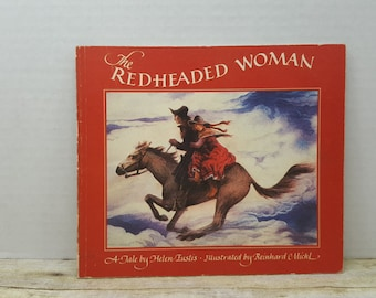 The Redheaded Woman, 1983, Helen Eustis, Reinhard Michl, a Star and Elephant book, vintage book