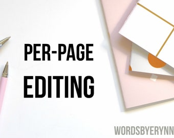 Editing services, content editing, resume editing, cover letter editing, resume edit, cover letter edit, per page editing, writing help
