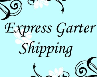Express Shipping within the US for Garters via the US Postal Service