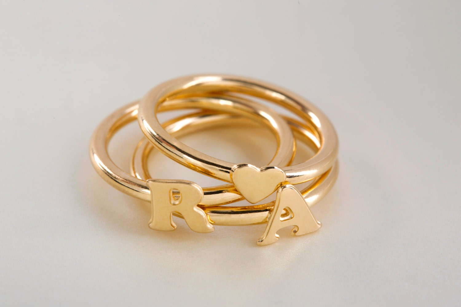 Lovely letter rings - Hizli.rapidlaunch.co KV89