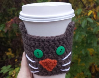 Cat Coffee Cup Cozy