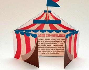 Circus Celebration - Printable PDF