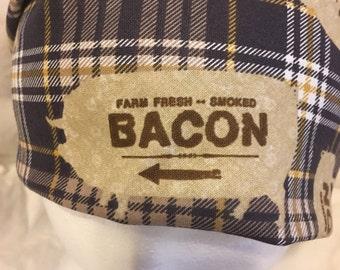 Bacon pig bandana