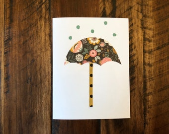 Get Well - Under the Weather - Umbrella | Handmade Card