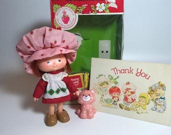 Complete In Original Box 1980 Strawberry Shortcake Box Number 43020