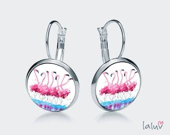 Earrings FLAMINGOS