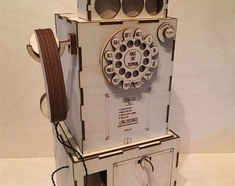 1957 Coin Telephone Box
