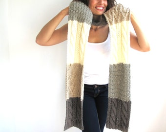 4 Colours Scarf Stole by Afra
