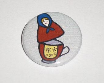 Babushka teacup