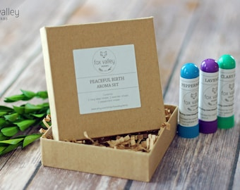 Peaceful Birth Aroma Set