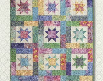 Lucky Stars Quilt Pattern by Atkinson Designs (ATK-129)