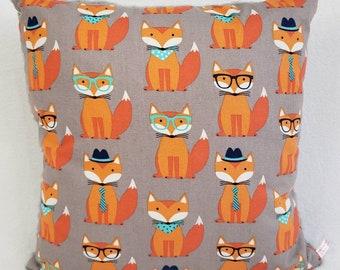Foxy Orange Pillow/Throw/Toss/Accent/Decorative/Travel Pillow