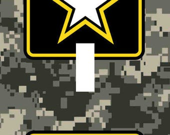 US Army Single Light Switch Plate Cover