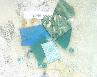 Turquoise earring kit