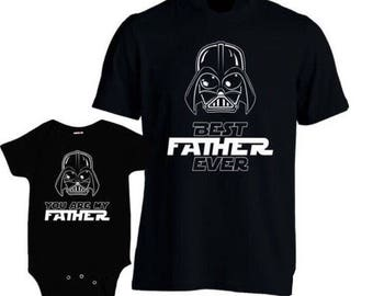 Star Wars father and son shirt