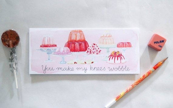 You Make My Knees Wobble Valentine's Day Card