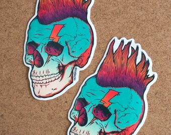 Skull Punk Redux - 2 sticker pack!