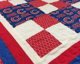 Chicago Cubs Quilt