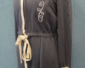 Handmade 60s House Robe - Vintage - Embroidered
