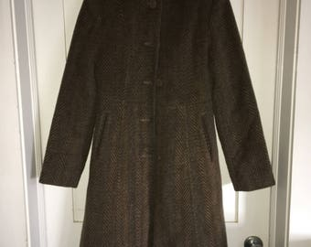 Kenneth Cole Wool Trench Coat