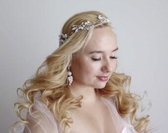 Bridal hairpiece, Wedding Hair Wreath, Wedding hairpiece, Boho hair accessories, Bridal hair accessories