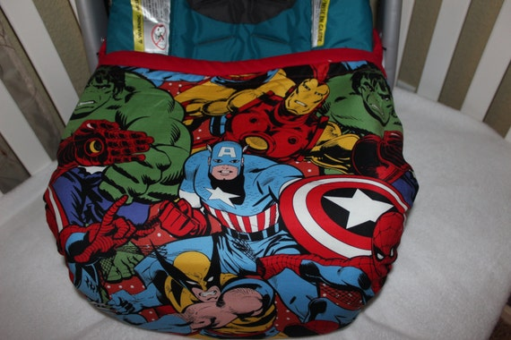Car Seat Cover Marvel Open Top