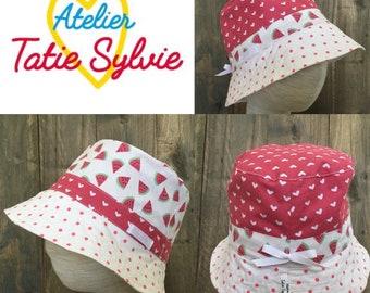 Reversible Safari love's Bowler Hat
