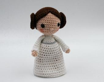 Crochet pattern: princess Leia