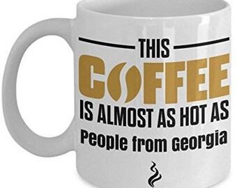 Georgia Coffee Mug, I Love Georgia , Georgia Mug, Georgia  Gifts, Georgia Lover Gift, Funny Coffee mug