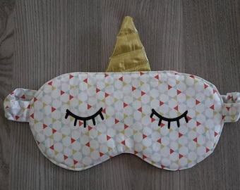 sleeping mask Unicorn theme