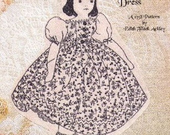 The Large Doll Pattern by Edith Flack Ackley  -  Photocopy