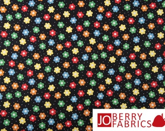Multi Flowers / Holly's Dolls Fabric