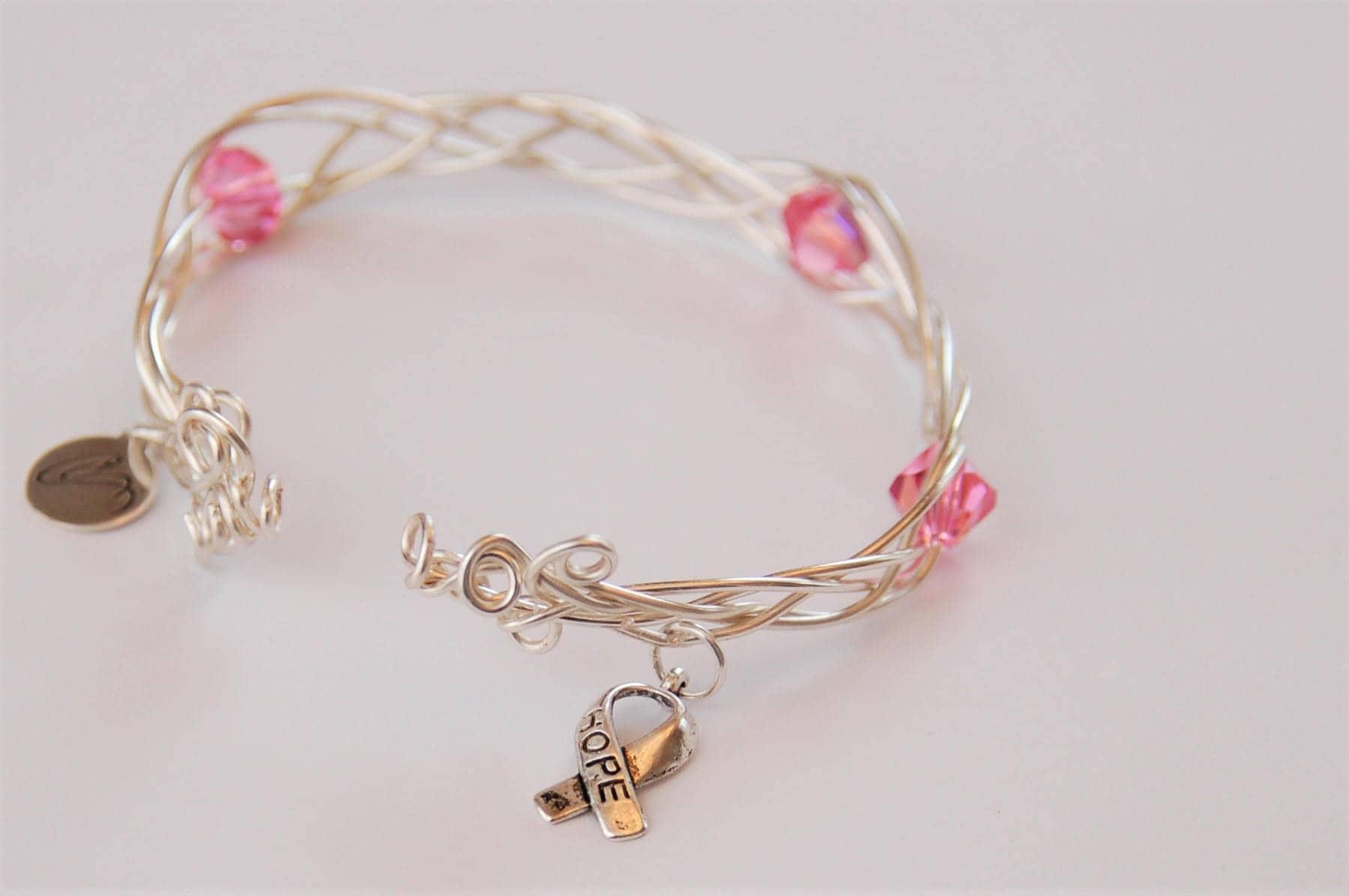 Celtic Braid BraceletBreast Cancer Awareness Awareness