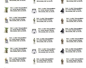 Star Wars Return Address Labels / Stickers